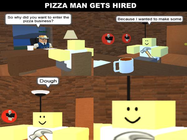Roblox Memes On Twitter Pizza Pun 1 Http T Co Aeziziutzm