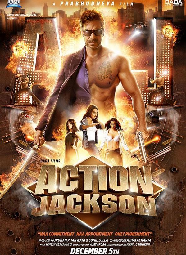 Action Jackson (2014) DM ALT - Ajay Devgan, Sonakshi Sinha, Yami Gautam, Kunaal Roy Kapur, Manasvi Mamgai