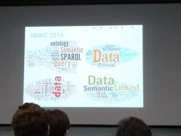 Data really dominates the paper titles at #iswc2014 http://t.co/j5Z6VYUJ2J