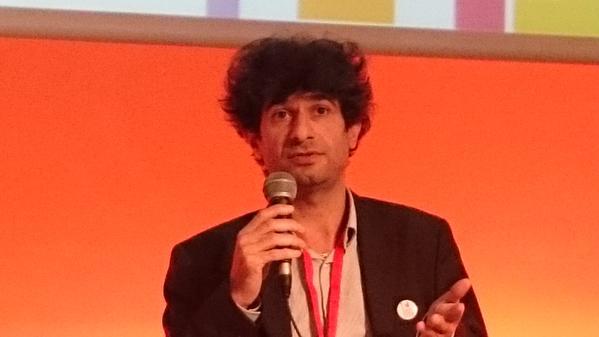 #FrenchTechRI Suat Topsu @oledcomm 1er opérateur LIFI (wifi par la lumière), sélectionné dans le PASS FrenchTech http://t.co/OuKm5TofNV