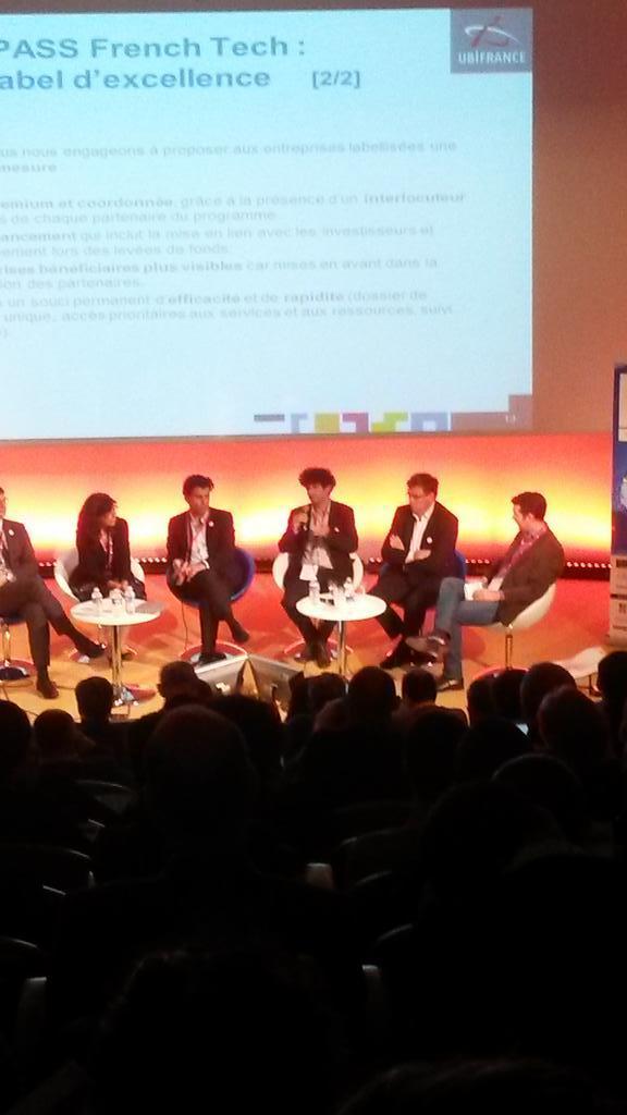 """Pour le CEO de @oledcomm , le Pass French Tech """"c'est le rêve de tout entrepreneur"""" #FrenchTechRI http://t.co/CiU5LnI3Kb"""
