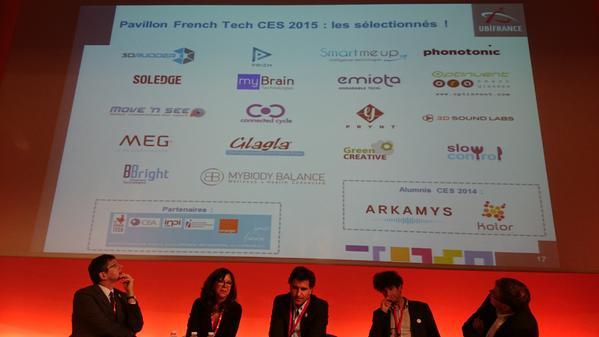 #FrenchTechRI Les 18 startups sélectionnées sur le pavillon FrenchTech CES 2015 http://t.co/PMaZHElP5R