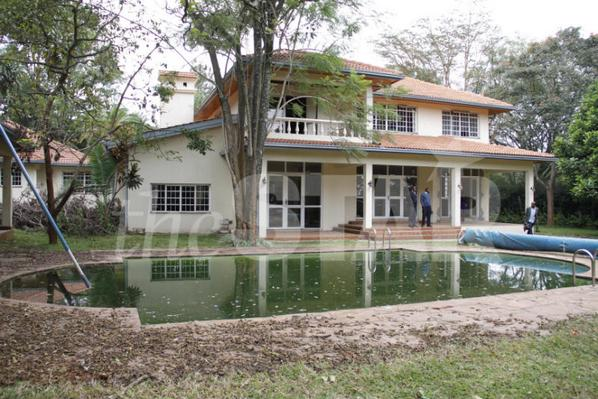 DISPUTED: The palatial Runda house that was bought by the judiciary at Sh310 million for the Chief Justice. Photo/CHARLES KIMANI