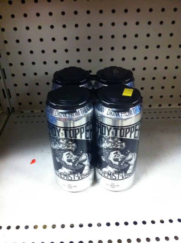 $42 / four pack. WARM on the shelf. CJ's Kegs Cases & more in Potsdam, NY. Shameful. http://t.co/SRMwp8gM71