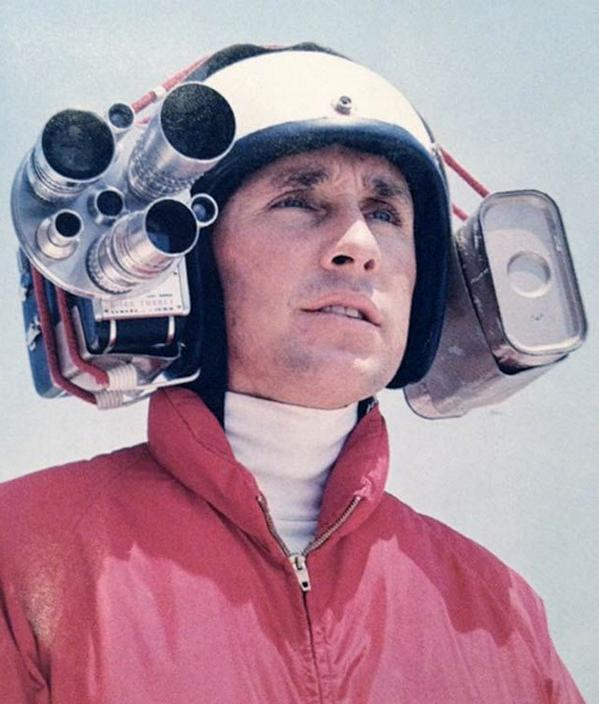 Jackie Stewart was wearing helmet cams before they were cool. http://t.co/WCMcSTwK5m