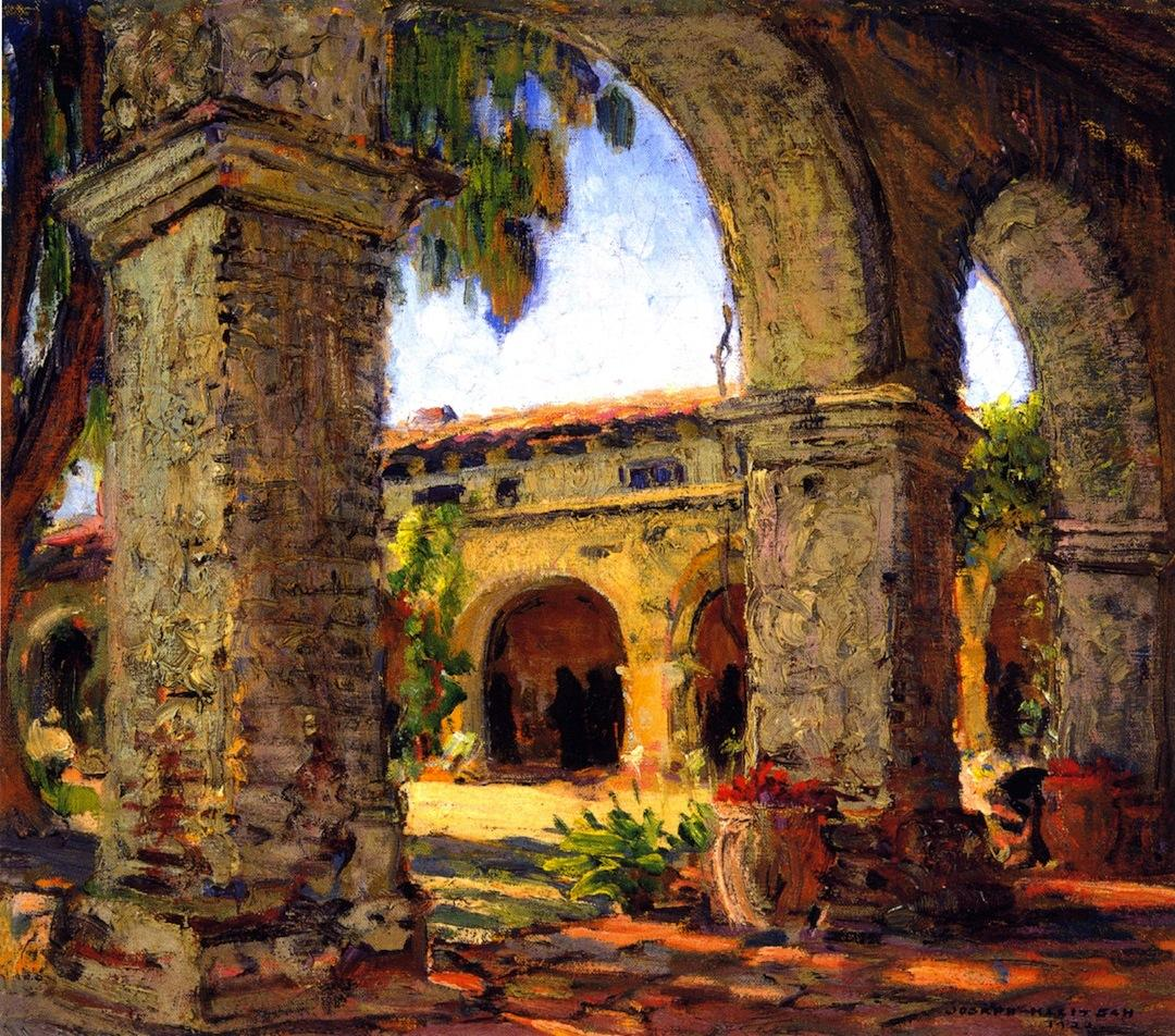 Through the Arches, Mission San Juan Capistrano