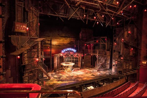 """Miss Saigon on Twitter: """"Here's the view from the Dress ..."""