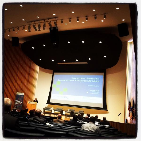 #MTLCsecurity at the Boston Fed. Time for some #InfoSec learnin'! http://t.co/WnJRlE9ItU