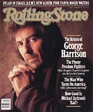 The Beatles Polska: Harrison na okładce Rolling Stone