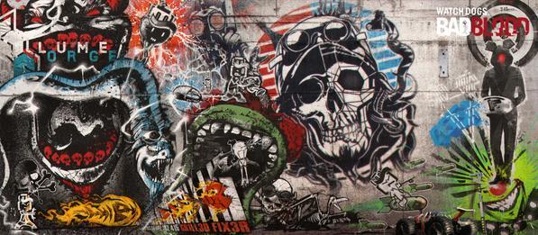 Watch Dogs Deadsec Graffiti Art