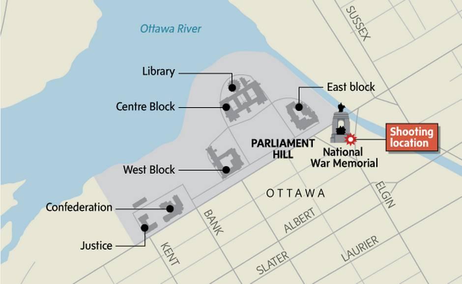 Ottawa War Memorial Map Near Ottawa War Memorial