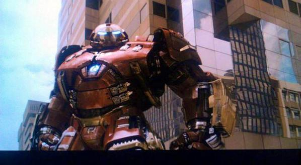 Un vistazo a Ultron y la armadura Hulkbuster en la próxima Avengers
