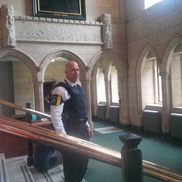 Still not clear yet, House of Commons security says. http://t.co/4KrAhHB2FM