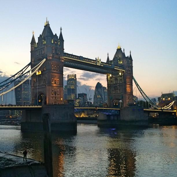Lovely evening in #London town... http://t.co/1Mwsd8nDxj #Instagram #TowerBridge http://t.co/fzLh190Uks