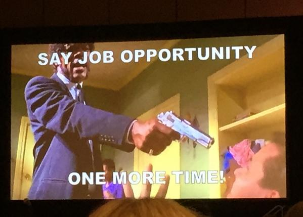 Best slide of the conference @GlenCathey - never use this in your subject line for #InMails #intalent http://t.co/7nkrl8Eqrv