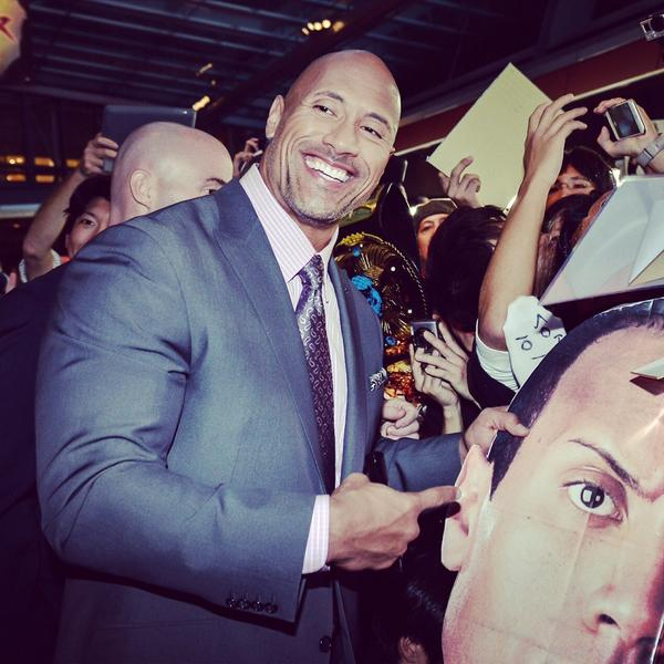 Dwayne Johnson On Twitter Got Head Thank You Japan For