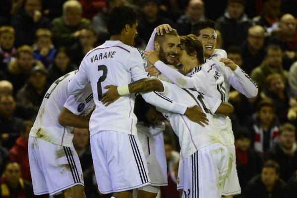 FT Liverpool 0-3 Real Madrid - Ronaldo & Benzema double earn Madrid a comfortable win http://t.co/SpXFR2bTfl #LFCVSRM http://t.co/vrEUBs5lIk