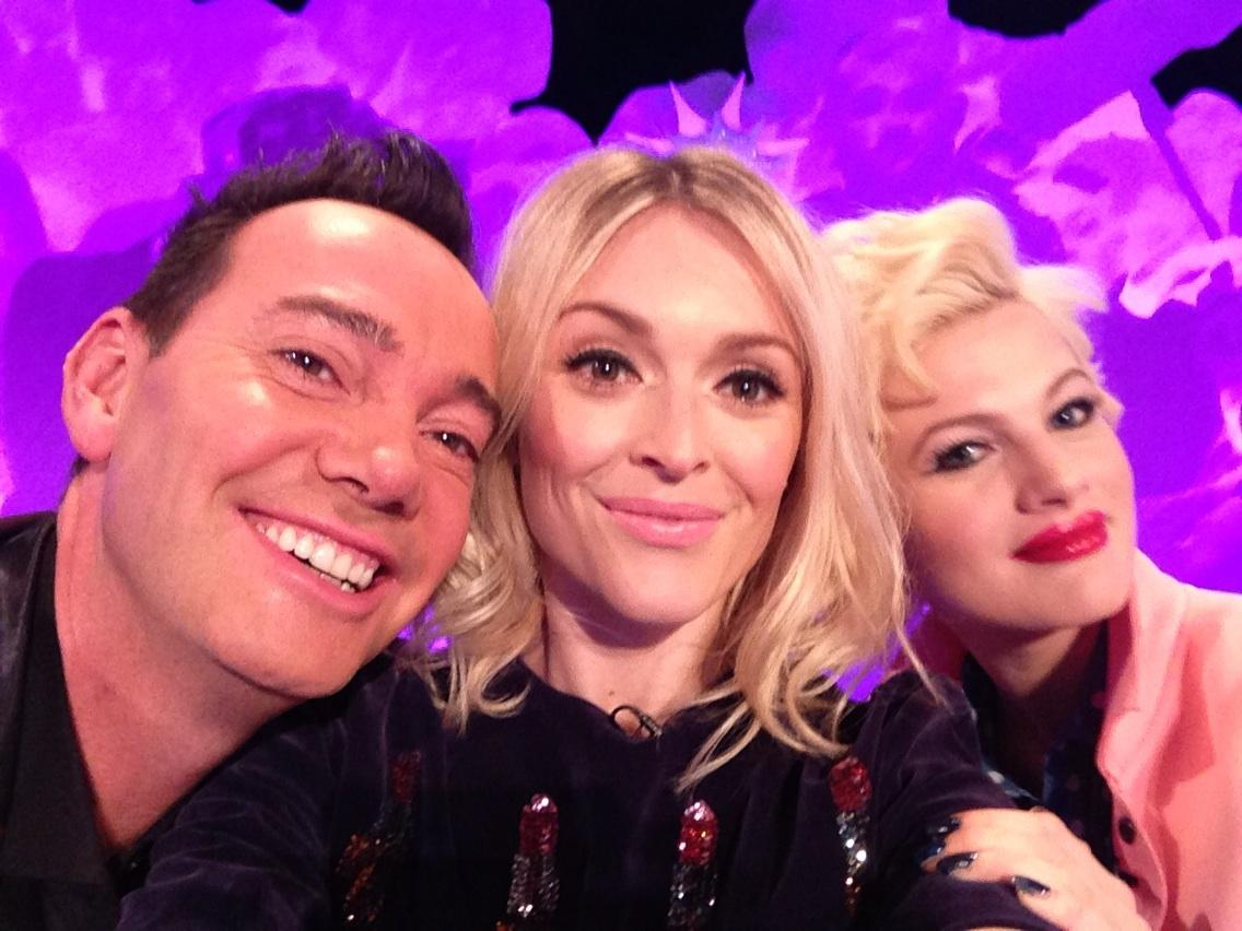 RT @Fearnecotton: On tomorrow's @CelebJuice things get posh! Craig Revel Horwood and Chloe Jasmine http://t.co/bjfYduNL1K