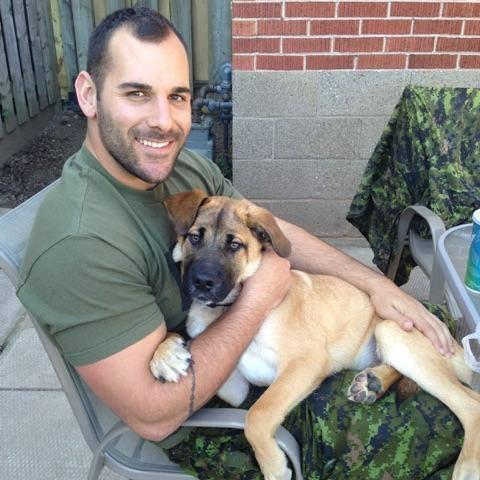 A photo of Cpl. Nathan Cirillo, killed in #Ottawa today. #RIP http://t.co/mh07ZMi9J5