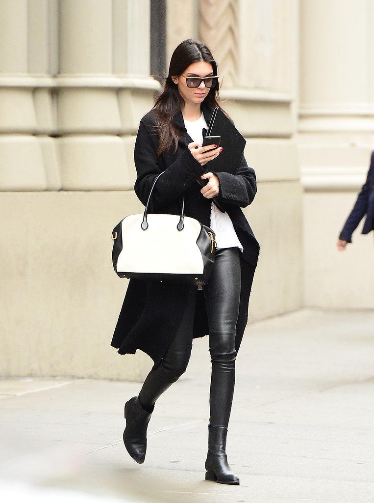 The only way to do Fall? In a long coat like Kendall's: http://t.co/aDYeVgI4nB http://t.co/mcqZaPsc0v