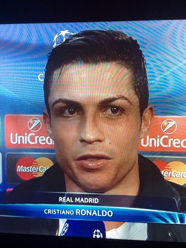 Melody Molale On Twitter Ronaldos Eyebrows Are Tweezed To
