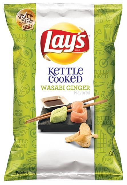 We like it hot...Wasabi Ginger hot! Let's welcome the newest flavor to the @LAYS family! http://t.co/pNa1iGJoad http://t.co/KrI6KDyx12