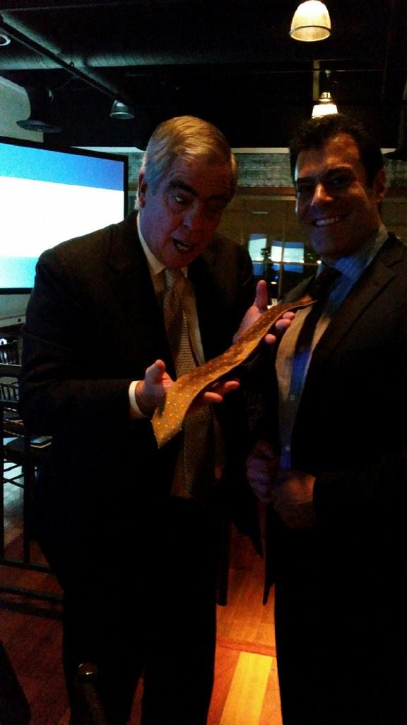 MT @ephraimcohen: At Council of PR Firms dinner where our @Fleishman CEO approves my only suit/tie http://t.co/o0OF8ig56H