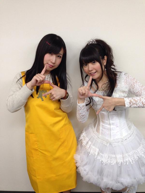 denk!girlsが、3月8日に横浜アリーナで開催のPs LIVE02に出演決定!高森さんと竹達さんが記者会見に出席しました!みなさんでぱっぱっぱーしましょー! #denkigai pslive.jp pic.twitter.com/4IN9rD9mkv