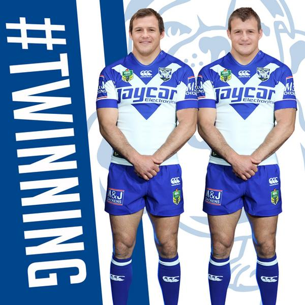 You're not seeing double! It's official, welcome to the Born & Bred Army @bmozzle #proudtobeabulldog http://t.co/lHAGA8PKbL