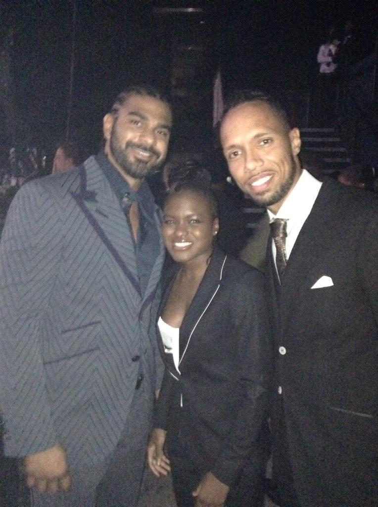 RT @GeniusBrandUK: The dream team @rubentabares @mrdavidhaye with the amazing @NicolaAdams2012 http://t.co/WOceuvbxJe