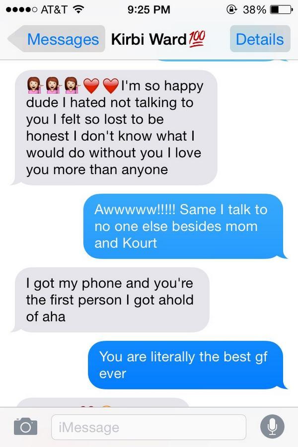 Lesbian sext