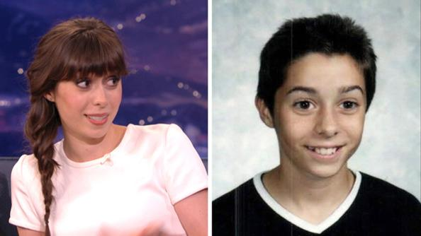 Cristin Milioti shares the most adorably embarrassing middle school photo on #Conan: http://t.co/n8pVvsxRFP http://t.co/VuxOIpP4VT