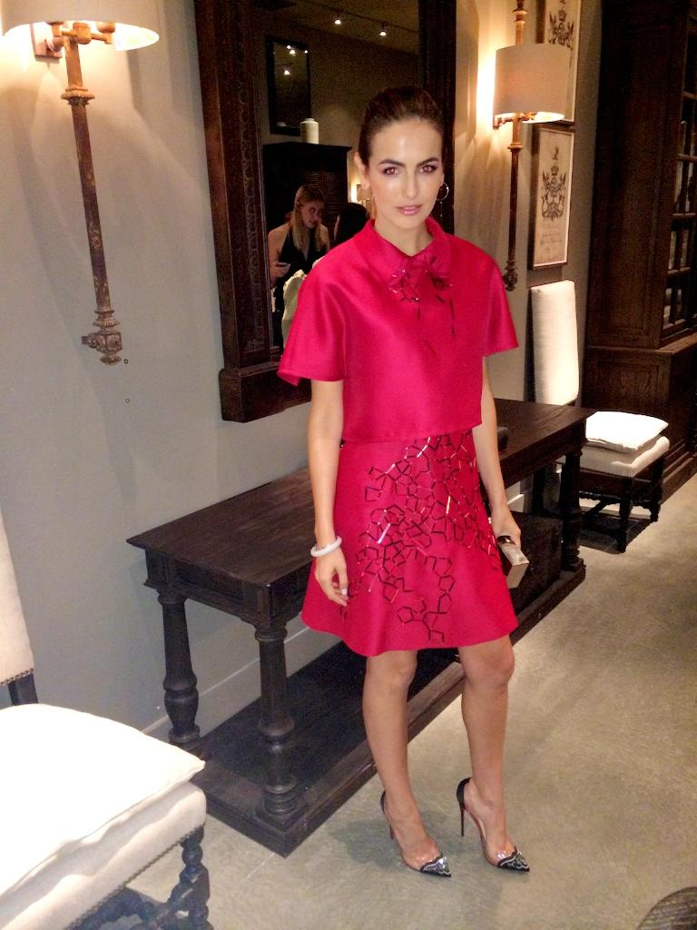 RT @JRadloff: Lady in red, indeed! The gorgeous @CamillaBelle in @HouseofHerrera at tonight's #RHWeHo opening. @glamourmag http://t.co/DlLc…