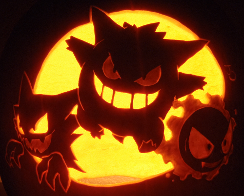 Some of the best pumpkin carvings of this halloween for Big pumpkin carving patterns