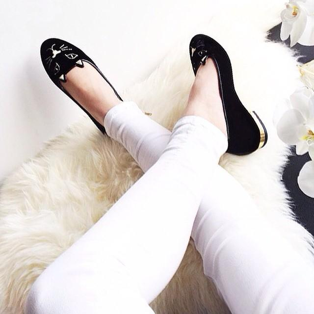 Meow! @charlotteolympia's Kitty slippers are the purrfect finishing point. #TheNETSet http://t.co/LOAv1yTkXQ http://t.co/wM87YY91yp