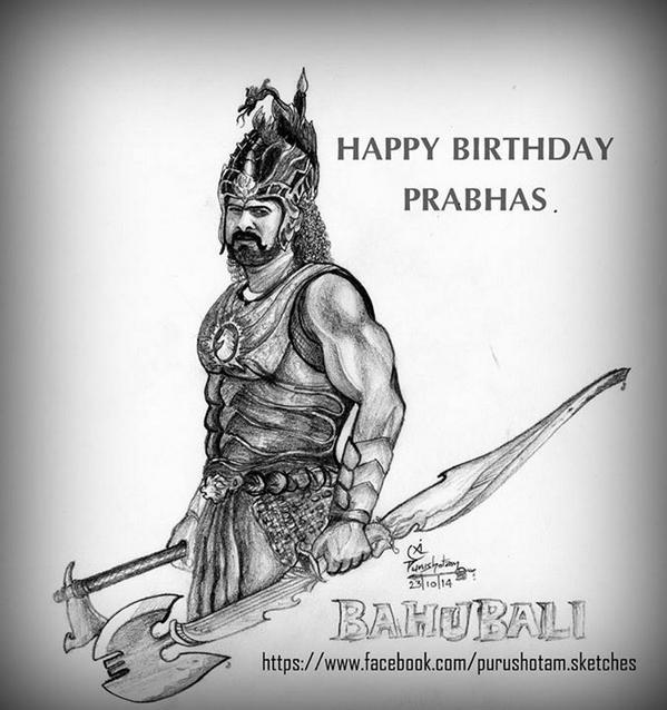 Prabhas on twitter prabhas bahubali time taken 45minutes pencils used apsara hb h 2h size 4 x 4 http t co eqyiyqbsal