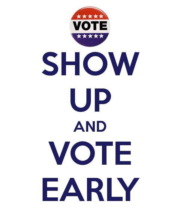 Early voting has started in Florida. Have u voted yet? #TNTweeters #UniteBlue #unitewomen http://t.co/ZIXi8ba4HW