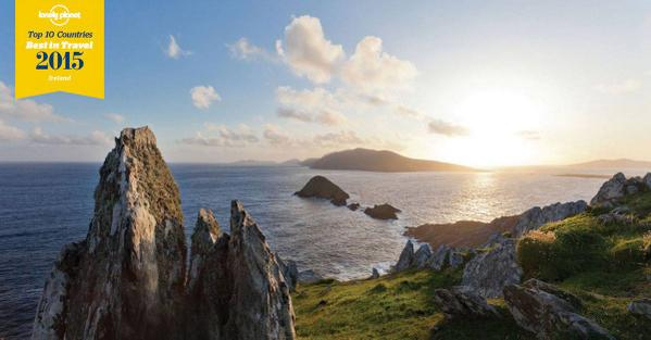 Ireland has been named as a must see destination in @lonelyplanet 's Best in Travel 2015!  http://t.co/I8cPmOXnPh http://t.co/vuvFTU58af