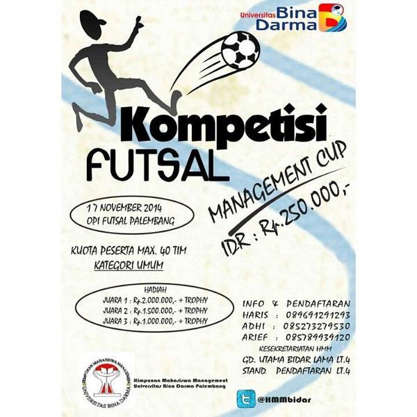 Contoh Brosur Futsal Doc Contoh Umi