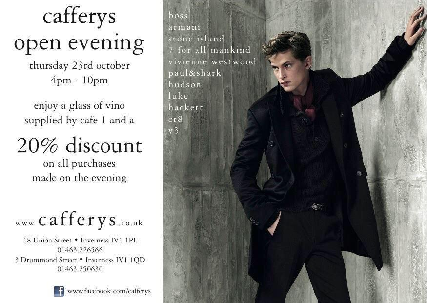 RT @dannycafferys: Starts today 4pm @cafferys  Finishes 10pm   1 day only 20% off both shops   @russell_kane RT http://t.co/Dn5wzZbdtk