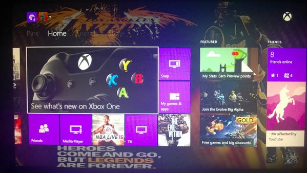 A special psd template to make your xbox one backgrounds - Xbox one wallpaper template ...