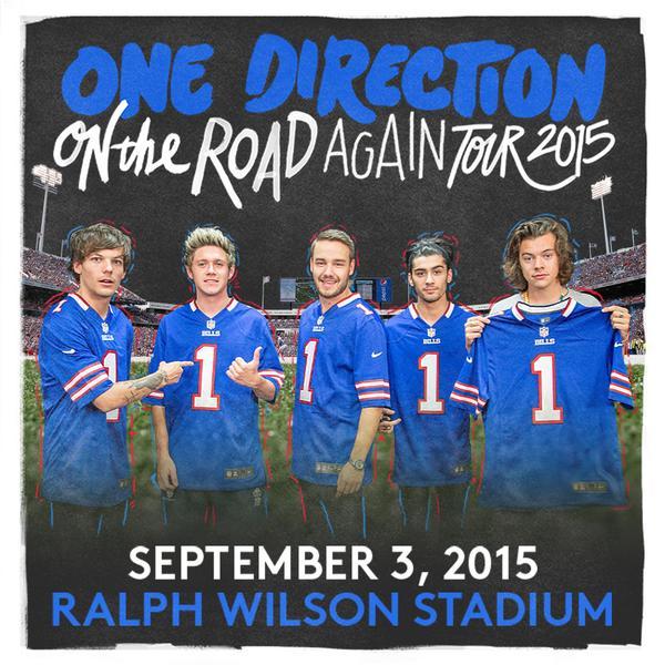 Buffalo bills on twitter onedirection is coming to ralph wilson onedirection is coming to ralph wilson stadium in 2015 concert details httptpe1wcdyhly httptlka6xc74aq m4hsunfo