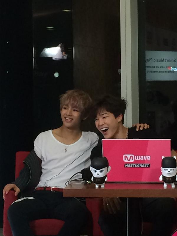 mwave meet and greet bts members