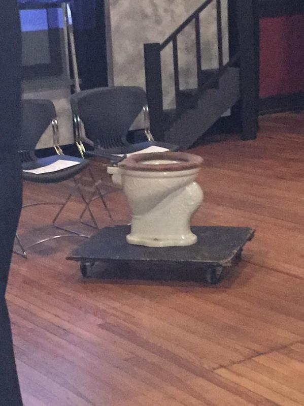 What's the purpose of the toilet @IndySM? 😜 http://t.co/4tVyA8273Y