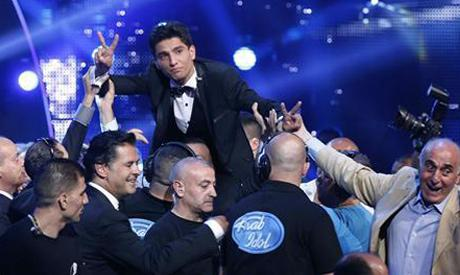 Palestine's @MohammedAssaf89 wins 'Best Middle East Act' at #MTVEMA http://t.co/vBJhWzYDGG http://t.co/Y3Peo5iR2S