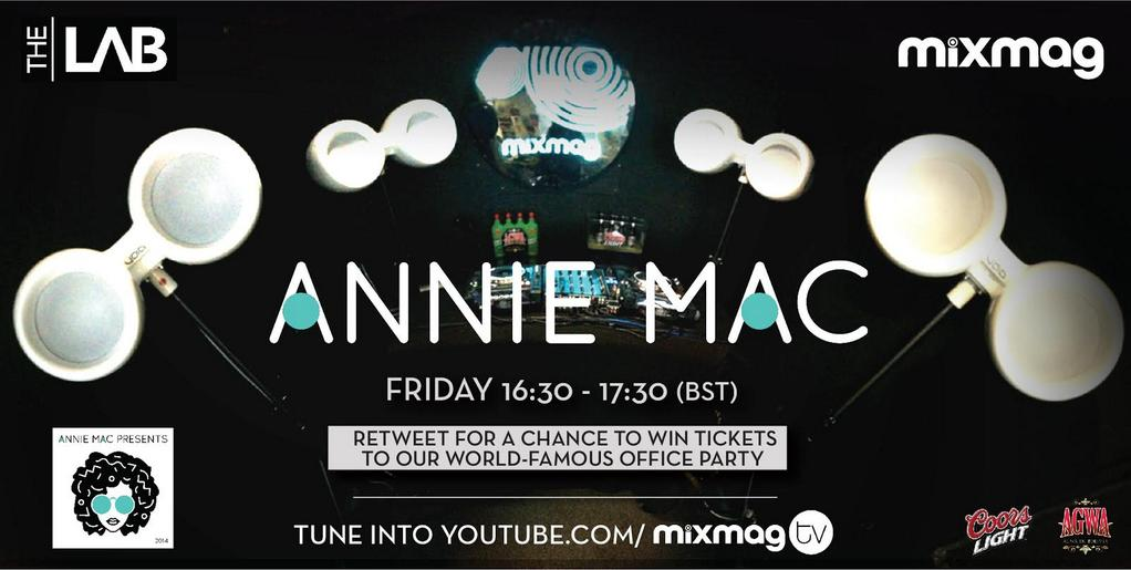 I'm DJing live from the offices of @mixmag tomorrow to celebrate the release of AMP2014. Here's how to be there… http://t.co/P83jUMeXic