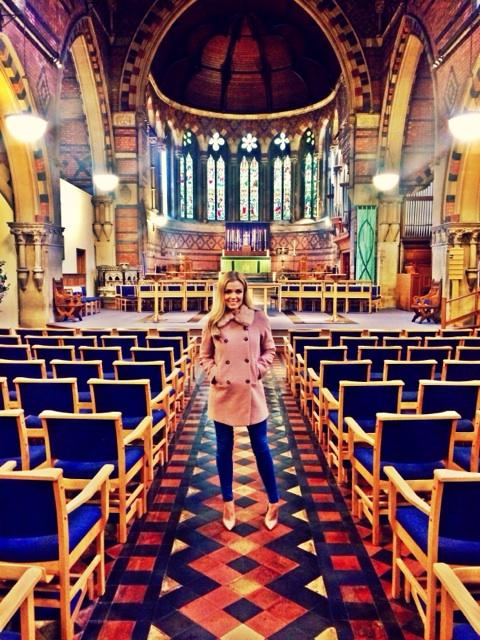 Loving being back in Wales, filming at St David's for ZDF Germany #homesweethome http://t.co/gBat4Dmp9a