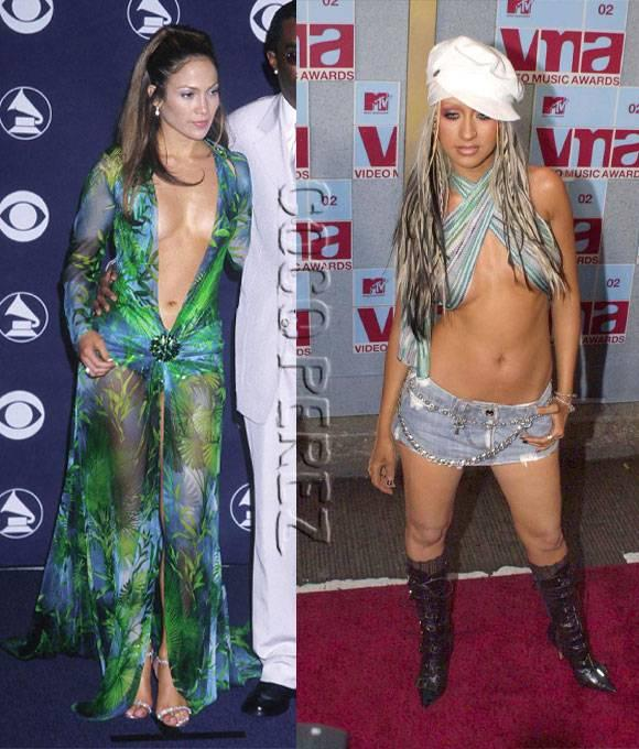 These are DEFINITELY the most scandalous celebrity outfits of the early 2000s! http://t.co/Sr1GqbgTSW http://t.co/zKU6fW0N75