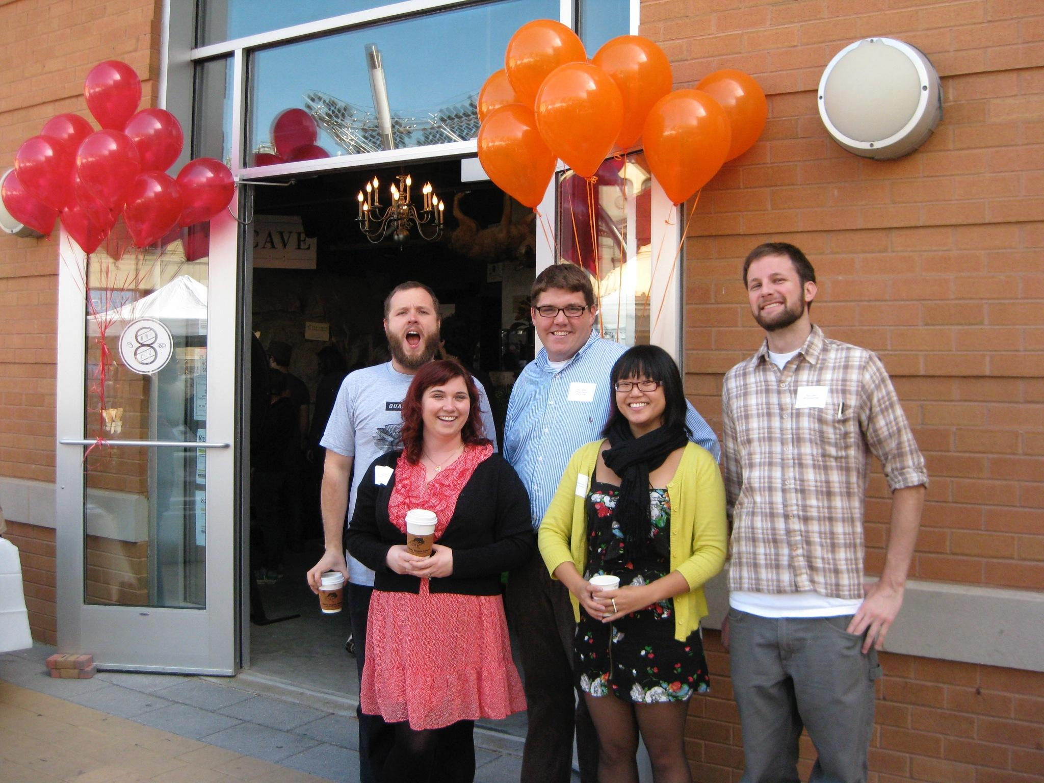 It's #TBT - so let's go back to FOUR YEARS AGO TODAY when we kicked open the doors to our center! http://t.co/qvo0mQpXpK