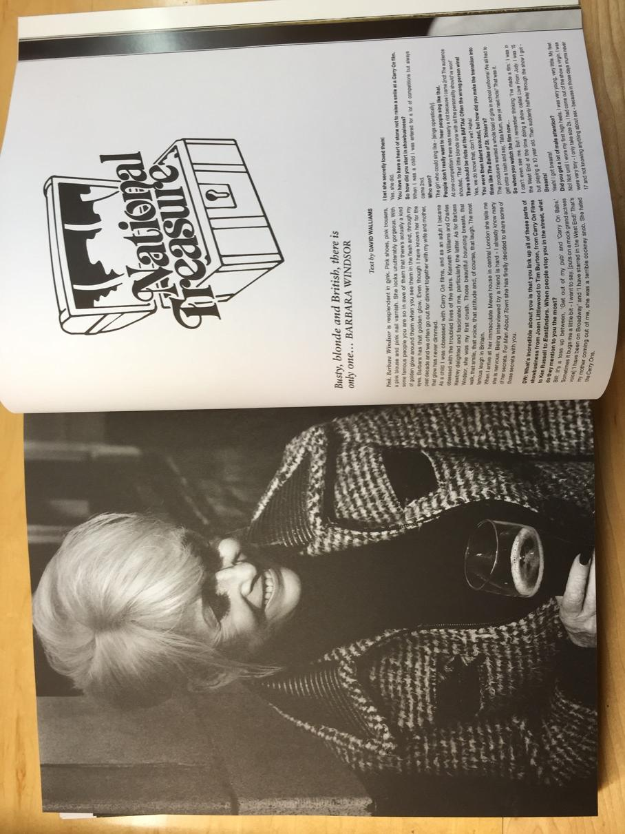 My interview with the great Barbara Windsor is in the new issue of 'Man About Town'... http://t.co/grxhO9en0X